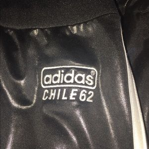 Adidas Chile 62 Wet Look Men's Vintage Pants XXL NWT